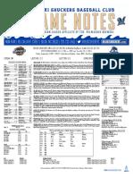 9.1.17 at MOB Game Notes