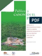Gasto Publico Canon Peru