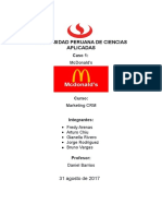Caso 1 McDonalds.
