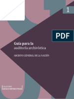 Guia Para La Auditoria Archivistica