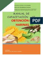 Manual de Cap. Harinas