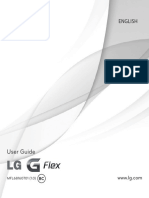 LG G Flex User Manual