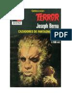 Berna Joseph - Seleccion Terror 390 - Cazadores De Fantasmas.pdf