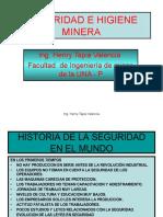 Seguridad e Higiene Minera