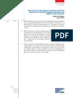 Valoraciones Del Enfoque Extractivo Del Plan Nacional de Gestión Integrada de Rercusos Hídricos de El Salvador - Erazo 2017