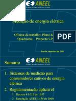 Medição de Energia Eletrica Aneel