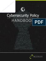 Cybersecurity Policy Handbook
