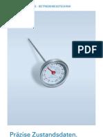 Präzise Zustandsdaten. Optimale Laufzeiten.
