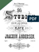 [Free com Andersen Joachim Studien Dur Und Moll 8563