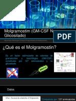 Molgramostim (GM-CSF No Glicosilado)