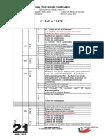 PLANIFICSCIÓN CLASE A CLASE DE 6TO AÑO 2017.docx