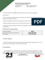 El Texto Argumentativo 6tos - Copia Docente
