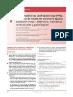 Cardiopatia Isquemica Manejo-Depresión Mayor-Demencia