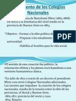 1°- COLEGIOS NACIONALES - BAMBI
