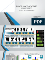 Power Dance Generate Electricity