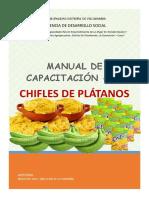 MANUAL de CAP. Chifles Platano