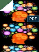 Elementos y Tipos de Conocimiento