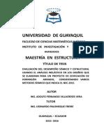 Caratula de Tesis de Grado - Pkta