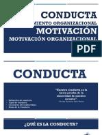 Conducta de Motivación