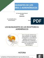 Betabloqueantes - Dr Jose Rodolfo