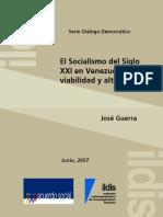 Jose Guerra EL SOCIALISMO DEL SIGLO XXI VIABILIDAD.pdf