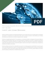 PRESENTACIÓN 2017 Perú Ocupa El Puesto 55 en El Índice de Competitividad Mundial 2017 Del IMD
