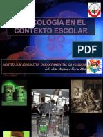Conferencia 3 Toxicologia en El Contexto Escolar