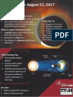 2017 Iowa City Solar Eclipse Guide