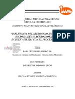Tesis - influencia del nitrogeno en lal union soldada de un acero de un acero inox dúplex AISI 2205 con GMAW BUENO.pdf