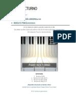 Piano Nocturno - Francisco García Ledesma