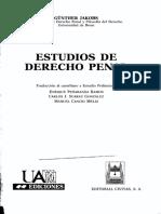 09-Jakobs-Prohibicion de Regreso-Estudios de DP