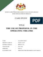 Case Study Propofol