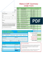 Make a Gift Order Form and Product Price Sheet 6.16.16