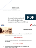 privatizacion educación en Chile Sem_inter_educacion de calidad e inversion.ppt