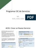 Programar OC de Servicios