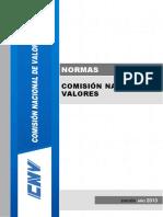 Normativa CNV - Compendio 2013