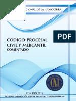 Codigo Procesal Civil Mercantil Comentado 2016