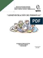 Apuntes Administracion de Personal