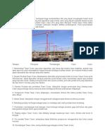 Pemasangan Tower Crane C
