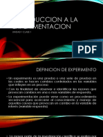 u1 c1 Introduccion a La Experimentacion