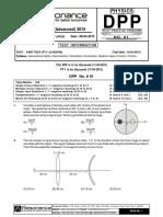 Physics Revision DPP-1_English