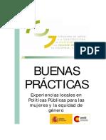 AECID - Experiencias Locales en Políticas Públicas Para Las Mujeres y La Equidad de Género