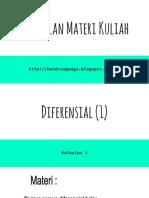 Diferensial (1)