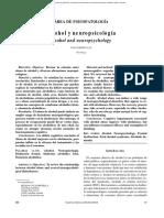 Alcohol y Neuropsicologia