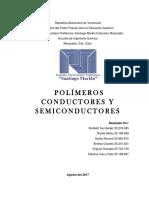 Polimeros Conductores y Semiconductores 20% 3er Corte