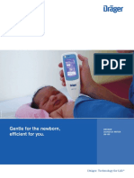 Jaundice Meter JM-105; Gentle for the Newborn, Efficient for You