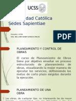 Planificación y Control de Obras 2