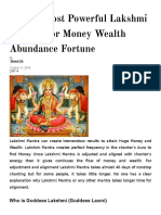 Top 10 Most Powerful Lakshmi Mantra for Money Wealth Abundance Fortune