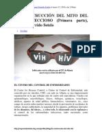 (Superandoelsida) - LA CONSTRUCCIÓN DEL MITO DEL SIDA INFECCIOSO (Primera Parte), Manuel Garrido Sotelo (2010)