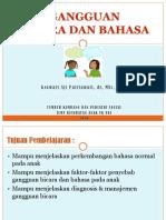 Gangguan Bicara Bahasa PDF